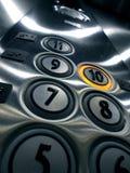 Botões do elevador ilustração royalty free