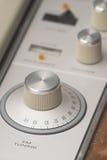 Botões do estéreo do vintage Imagem de Stock Royalty Free