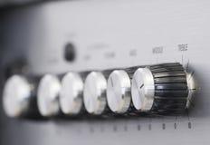Botões do lado obscuro Foto de Stock