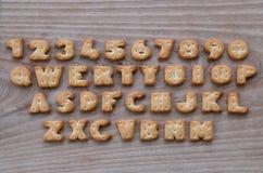 Botões do teclado do biscoito Foto de Stock