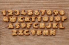 Botões do teclado do biscoito Imagens de Stock