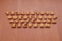 Botões do teclado do biscoito Fotografia de Stock