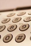 Botões do telefone Imagem de Stock