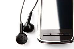 Botões do telefone móvel e da orelha Imagem de Stock Royalty Free