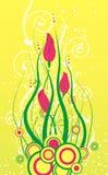 Botões do tulip da mola Imagem de Stock Royalty Free