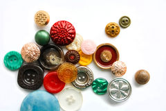 Botões do vintage Imagem de Stock Royalty Free