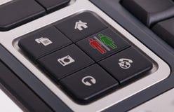 Botões em um teclado - homem e mulher Fotografia de Stock Royalty Free