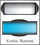 Botões góticos da fantasia Imagem de Stock