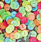 botões Multi-coloridos Fotografia de Stock
