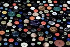 Botões multi-coloridos velhos Imagens de Stock