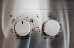 Botões no fogão Imagem de Stock