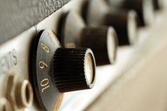 Botões obscuros do vintage Fotos de Stock Royalty Free