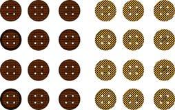 Botões para scrapbooking Imagem de Stock