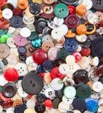 Botões plásticos coloridos Imagem de Stock Royalty Free