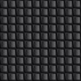 Botões pretos do teclado Teste padrão sem emenda abstrato Fotografia de Stock