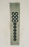 Botões velhos do elevador Fotos de Stock