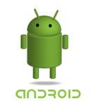 Bot androide Foto de archivo