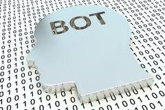 Bot de la charla Imagenes de archivo