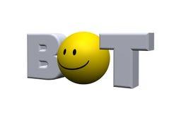 Bot del Internet Imagenes de archivo
