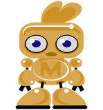 Bot do ouro Fotos de Stock