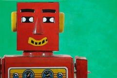 Bot felice di chiacchierata Immagini Stock