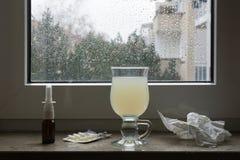 Bot för gemensam förkylning eller influensa Royaltyfri Foto
