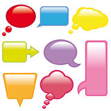Botón. Elementos web Stock Image