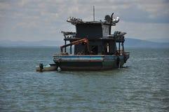 Bot to catch shrimp.  Royalty Free Stock Image