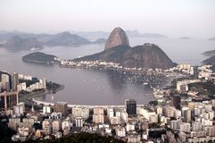 Botafogo Bay. Rio de Janeiro, Brazil royalty free stock photography