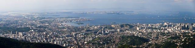 Botafogo Bay in Rio de Janeiro Royalty Free Stock Photo