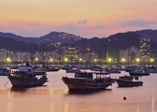 Botafogo Bay in Rio de Janeiro Royalty Free Stock Photos