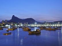 Botafogo Bay in Rio de Janeiro Royalty Free Stock Image