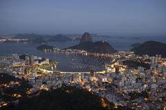 Botafogo Bay Royalty Free Stock Photography