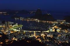 Botafogo Bay Royalty Free Stock Images