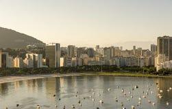 Botafogo beach and cove Stock Image