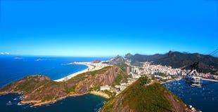 Botafogo and copacabana Stock Photos