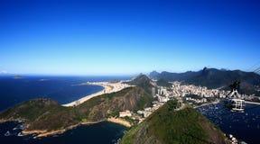 Botafogo and copacabana rio de janeiro brazil Royalty Free Stock Image