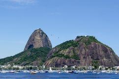 Botafogo plaża, Rio De Janeiro, Brazylia Zdjęcia Royalty Free