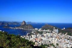 Botafogo and the sugar loaf Stock Photo