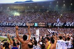 Botafogo supporters maracana stadium Royalty Free Stock Photo