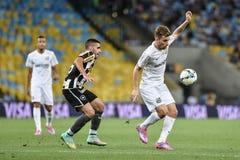 Botafogo 2, 3 x Santos definitywny wynik Obrazy Royalty Free