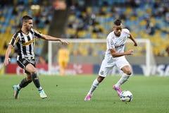 Botafogo 2 x 3 Santos final score Stock Photography