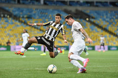 Botafogo 2 x 3 Santos final score Stock Photo