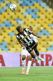 Botafogo 2 x 3 Santos final score Stock Photography