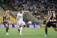 Botafogo 2 x 3 Santos sista ställning Royaltyfria Foton
