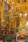 Botafumeiro and altar. Cathedral of Santiago botafumeiro and altar view Royalty Free Stock Images