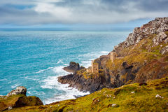 Botallack Mines Cornwall Royalty Free Stock Photos