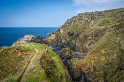 Botallack tin mines, Cornwall, england uk Stock Image