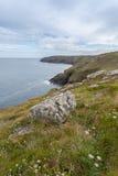 Botallack Tin mines in Cornwall Uk England Stock Image