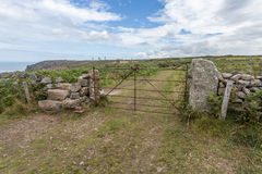 Botallack Tin mines in Cornwall Uk England Royalty Free Stock Image